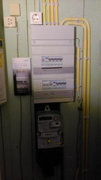 Goede 285: Oude en te kleine stoppenkast zonder aardlekbeveiliging EX-76
